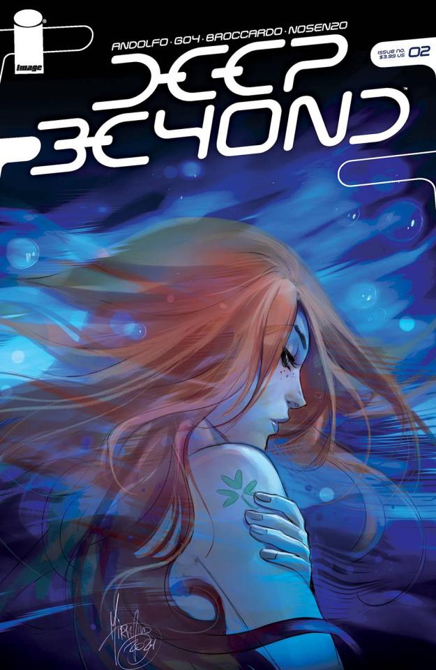 Deep Beyond #2 (Andolfo Cover)