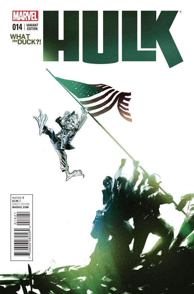 Hulk #14 (WTD Cover)