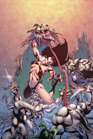 Vengeance of Vampirella #9 (15 Copy Castro Virgin Cover)