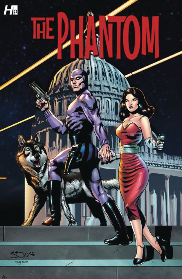 The Phantom: President Kennedy's Mission #1 (Sean Joyce Cover)