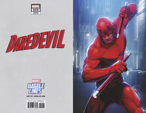 Daredevil #609 (Yoon Lee Marvel Battle Lines Cover)