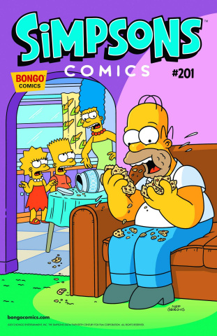 Simpsons Comics #201