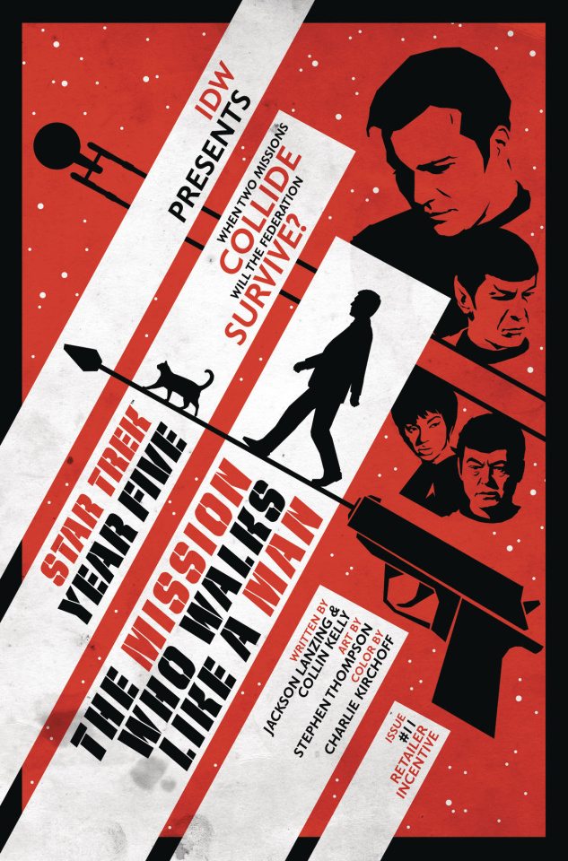 Star Trek: Year Five #11 (Thompson Cover)