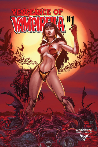 Vengeance of Vampirella #1 (40 Copy Buzz Blood Moon Cover)