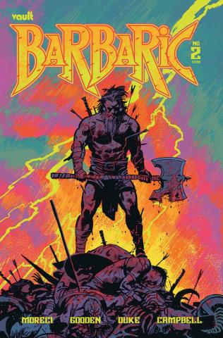 Barbaric #2 (Hixson Cover)
