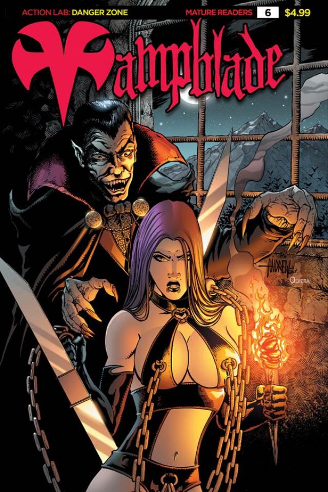 Vampblade #6 ('90s Monster Cover)