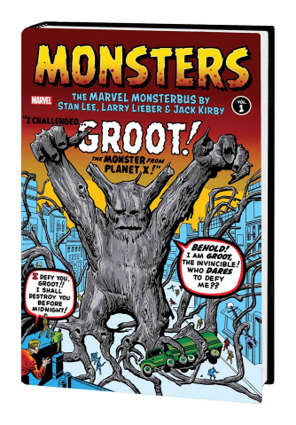 Monsters Vol. 1: Marvel Monsterbus by Lee, Lieber, and Kirby