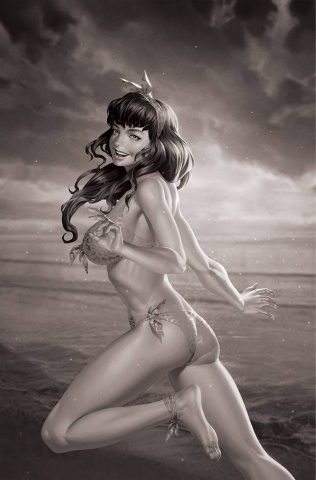 Bettie Page #5 (15 Copy Yoon B&W Virign Cover)