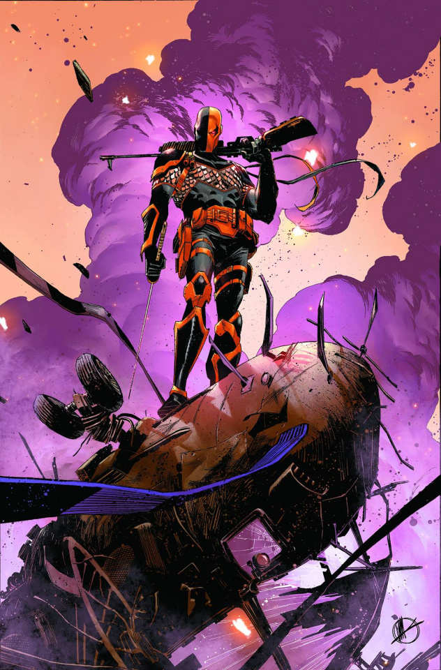 Deathstroke #4 (Variant Cover)