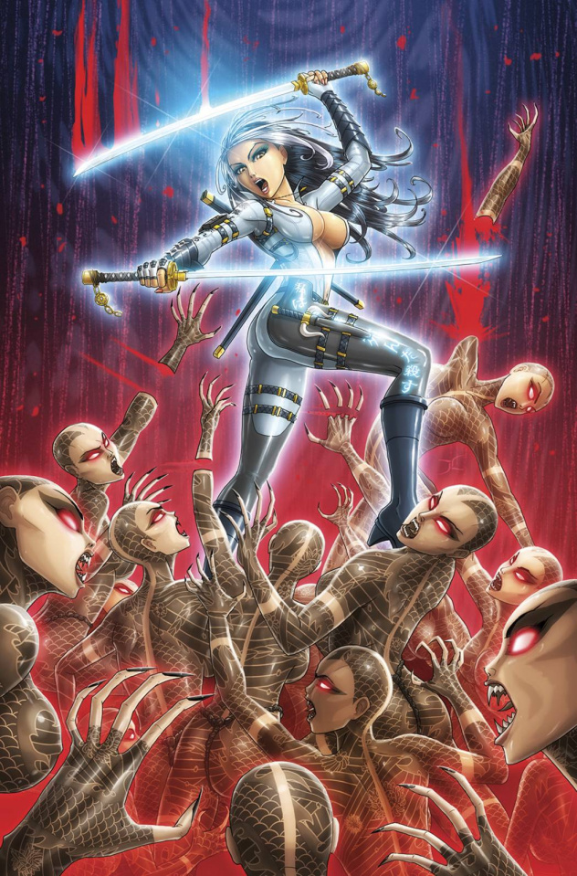 Grimm Fairy Tales: Masumi #3 (Cardy Cover)