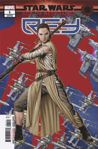 Star Wars: Age of Resistance - Rey #1 (McKone Puzzle Cover)
