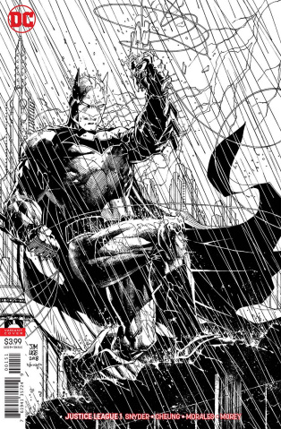Justice League #1 (Jim Lee Inks Only Cover)