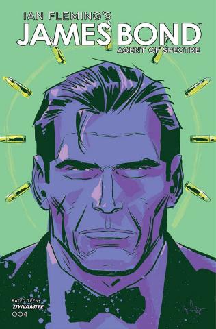 James Bond: Agent of SPECTRE #4 (Premium Casalanguida Cover)