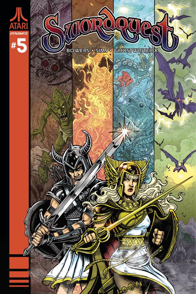 Swordquest #5 (Haesar Cover)