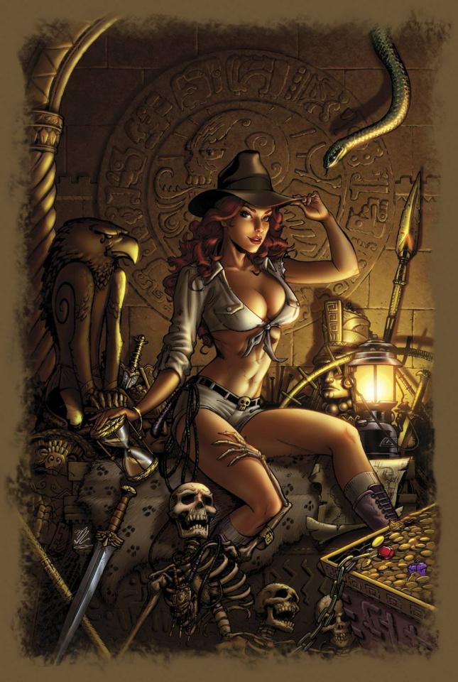 Grimm Fairy Tales: Grimm Tales of Terror #2 (Dooney Cover)