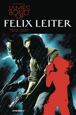 James Bond: Felix Leiter #5 (Perkins Cover)