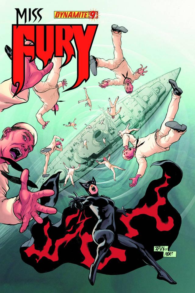 Miss Fury #9 (Tan Cover)