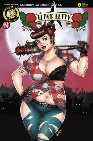 Black Betty #2 (Harrigan Tattered & Torn Cover)