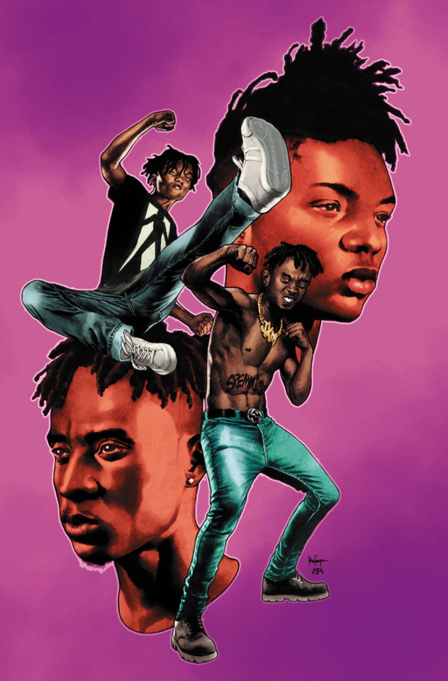 Shadowman / Rae Sremmurd #1 (20 Copy Suayan Cover)