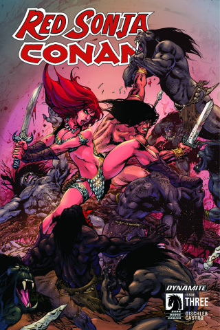 Red Sonja / Conan #3 (Subscription Cover)