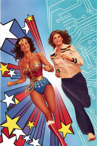 Wonder Woman '77 Meets The Bionic Woman #1 (25 Copy Cover)