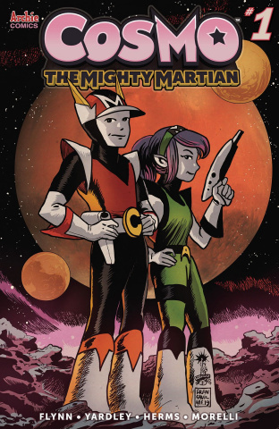 Cosmo: The Mighty Martian #1 (Francavilla Cover)