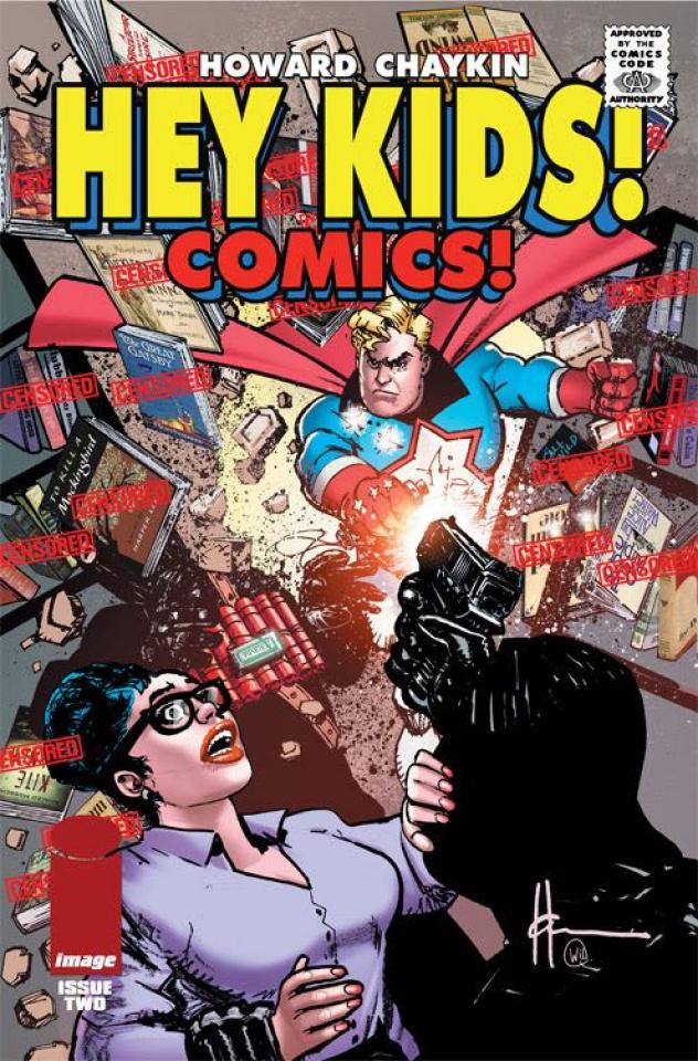 Hey Kids! Comics! #2 (CBLDF Charity Censored Cover)