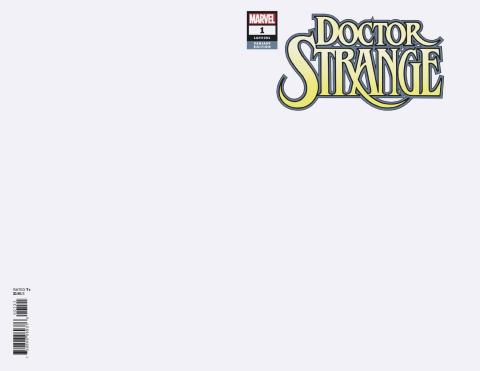 Doctor Strange #1 (Blank Cover)