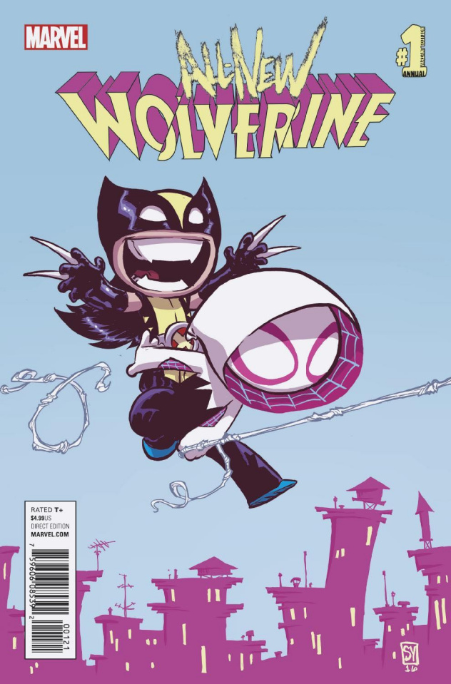 All-New Wolverine Annual #1 (Young Cover)