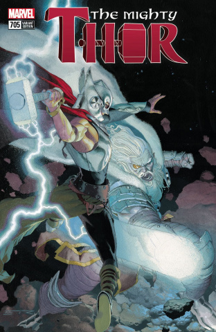 The Mighty Thor #705 (Ribic Mighty Thor Cover)