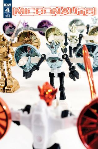 Micronauts #4 (Classic Photo Cover)