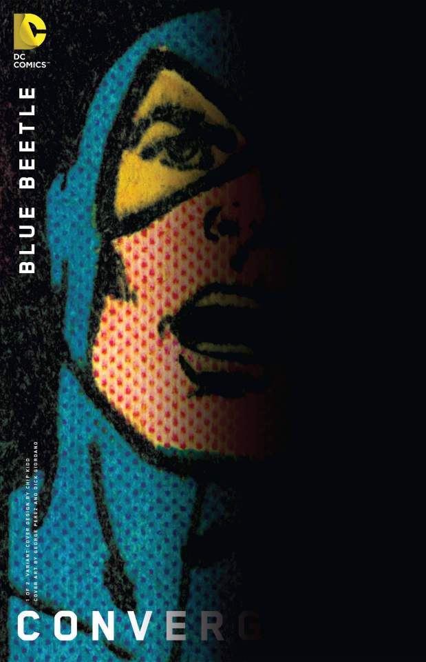 Convergence: Blue Beetle #1 (Chip Kidd Cover)