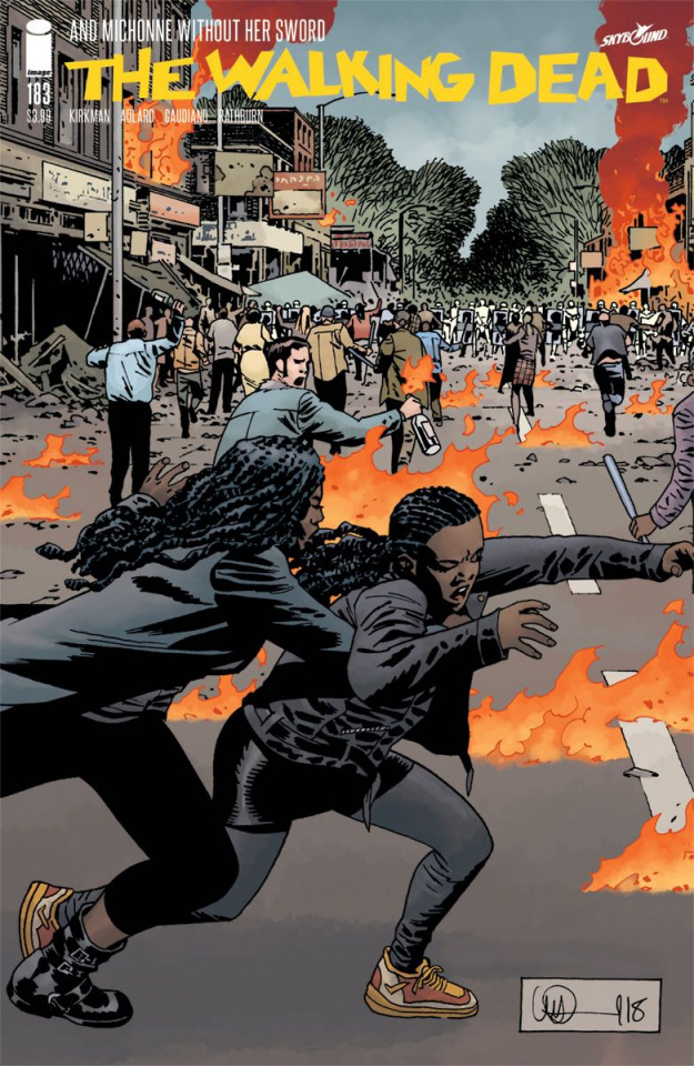 The Walking Dead #183 (Adlard & Stewart Cover)