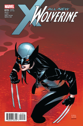 All-New Wolverine #19 (Kirk Cover)