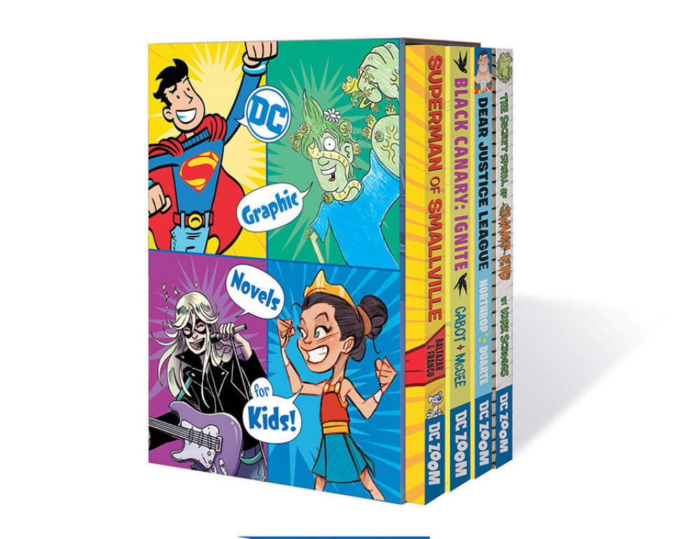 DC Graphic Novels for Kids (Box Set)