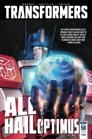 The Transformers #50 (Choi Cover)
