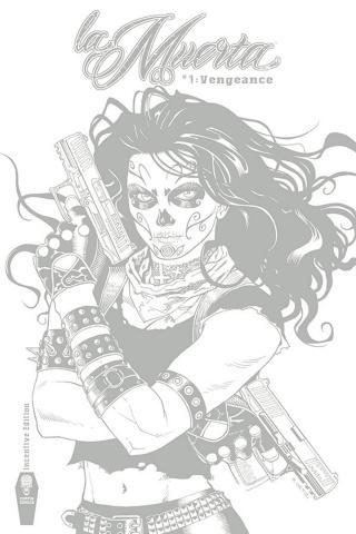 La Muerta: Vengeance #1 (Free Ortiz 10 Copy Cover)