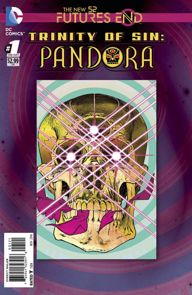 Trinity of Sin: Pandora - Future's End #1 (Standard Cover)