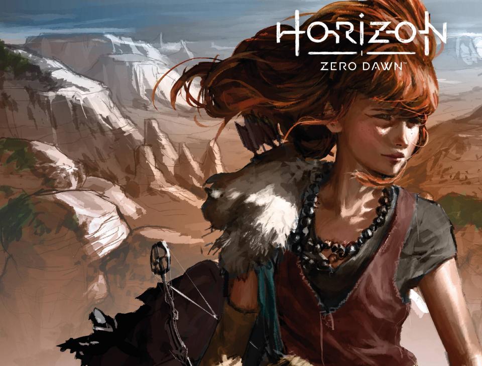 Horizon: Zero Dawn - Liberation #1 (Game Art Cover)
