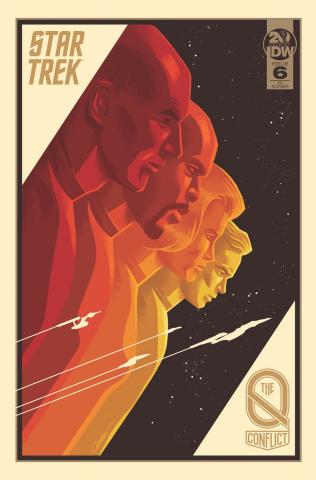 Star Trek: The Q Conflict #6 (10 Copy Caltsoudas Cover)