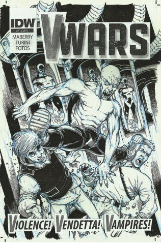 V-Wars #7 (10 Copy Cover)