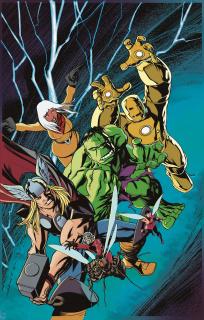 Avengers #675 (Avengers Cover)