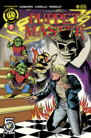 Puppet Master #20 (Lumsden Cover)