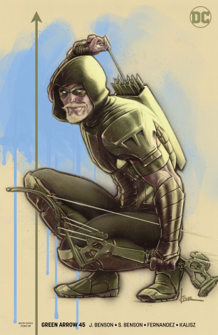 Green Arrow #45 (Heroes in Crisis Cover)