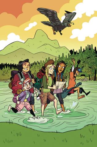 Lumberjanes #49 (Subscription Dozerdraws Cover)