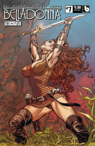 Belladonna: Fire and Fury #7 (Viking Vixen Cover)