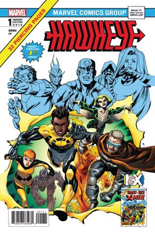 Hawkeye #1 (McKone IvX Cover)