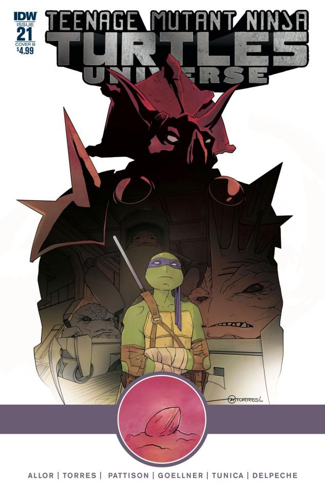 Teenage Mutant Ninja Turtles Universe #21 (Torres Cover)