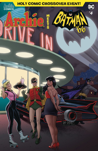 Archie Meets Batman '66 #4 (Quinones Cover)