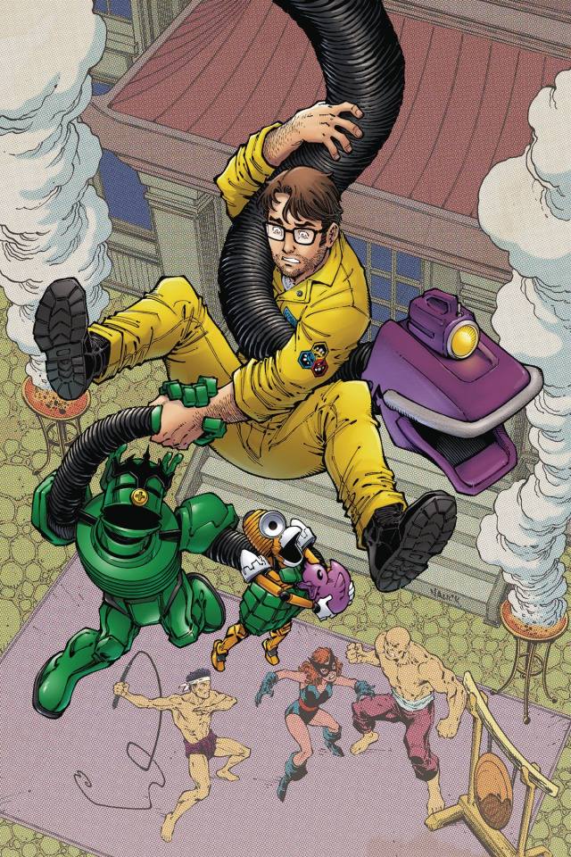 Mystery Science Theater 3000 #4 (Nauck Cover)